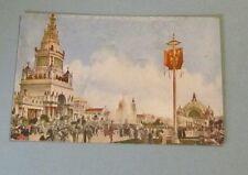 1915 Great South Gardens San Francisco Pan Pacific Exposition Postcard + Cancel