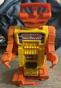 RUDY THE ROBOT REMCO INDUSTRIES VERY RARE 1968 Yellow Torso Works