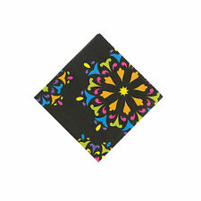 Day Of The Dead Beverage Napkins - Party Supplies - 16 Pieces