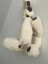 Equestrian- Fuzzy Show Halter, Size Medium, Slightly new