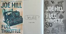 Signed Full Throttle Stories by Author Joe Hill PREORDER Hardcover 1st Ed