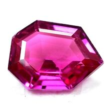 AAA+ 17.80 Ct Natural Pink Pyrope Garnet AGSL Certified Fancy STUNNING Gemstone