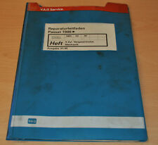 VW Passat B2 Typ 32 4 Zylinder Vergasermotor ABN EZ RF 1988 Werkstatthandbuch