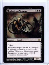 Mephidross Vampire Fifth Dawn MtG Magic the gathering misprint ink error