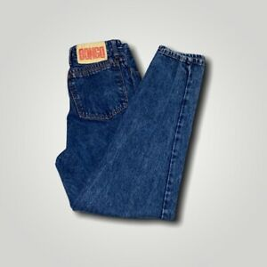 BONGO 80s 90s Vintage High Waisted Button Up Mom Jeans Womens Size 11 29/27