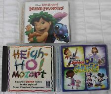 Disney Songs CD Lot Lilo & Stitch Heigh-Ho Mozart Jr Doc Mickey Jake Sofia Mcstu