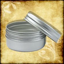 50ml Aluminium Tin/Jar/Containers With Screw Lids Lip Balm, Cosmetic 10,5,3,2,1