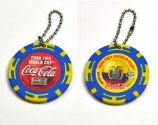 Coca-Cola Catena chiave dal Giappone Key Chain FIFA World Cup 2006 Ecuador