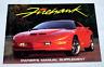 OEM GM SLP 1996/1997 Pontiac Firebird FIREHAWK Owners Manual Supplement 40 pages
