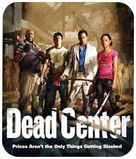 """LEFT 4 DEAD DEAD CENTER MOUSE PAD 1/4"""" NOVELTY MOUSEPAD"""