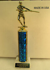 "TUG OF WAR TROPHY AWARD 12"" TALL  SHIPPED 2-3 DAY PRIORITY MAIL"