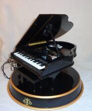 Mr. Christmas  Grand Player Piano Music Box on Dais / 10 metal song disks