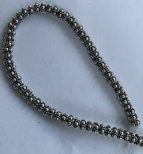 5 mm Sterling  Silver beads