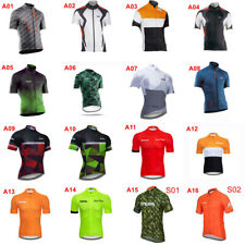 comfortable men cycling jersey short sleeve mtb outdoor sports jersey top S467