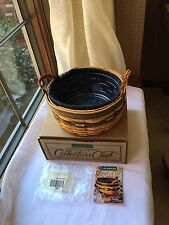 Longaberger 1998 Collectors Club Renewal Basket Combo with Box Reduced Further