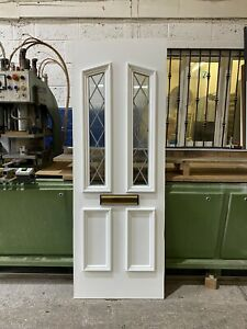 Second Hand Door Panel, WHITE, 625mm Wide By 1770mm Height, 24mm Thick, (P233)