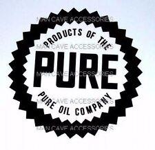 "Vintage PURE Oil Co 4"" Vinyl Decal Sticker 4183"