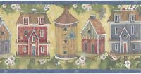 Susan Winget Birdhouse / Birdhouses Wallpaper Border 13235