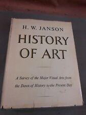 1966 HISTORY OF ART by H.W. Janson Tenth printing DJ/HC