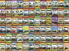 Collection of 600 Different Train / Railway / Railroad / Locomotive Mint Stamps