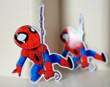 """#5019 Spider-Man Far From Home Avengers Chibi Anime Comics 4x4"""" Decal sticker"""