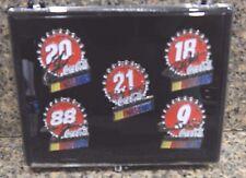 Coca-Cola Racing Team Nascar 5 Piece Pin Set #9, 18, 20, 21, 88