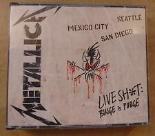 METALLICA (Live Shit Binge& Purge) (3CDs + 2DVDs BOX)