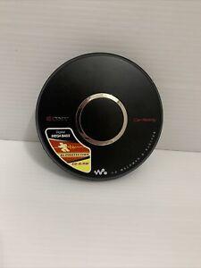 SONY CD Walkman D-EJ017CK Black Portable CD Player Mega Bass Tested Working