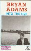 Bryan Adams.. Into The Fire... Import Cassette Tape
