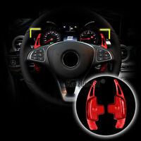 Aluminum Steering Wheel Shifter Gear Paddle DSG Extension For Benz CLA GLE GLC S