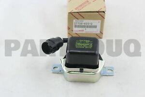 2770063010 Genuine Toyota REGULATOR ASSY, GENERATOR 27700-63010