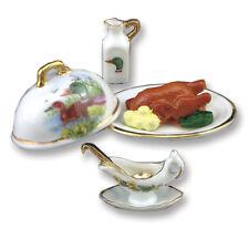 Reutter Porzellan Entenbraten / Roast Duck Puppenstube 1.832/8, 1:12
