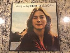 Judy Collins Colors Of The Day Best Of Hits 3 3/4 Ips Rare 4 Track Reel To Reel