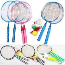 1 Pair Youth Children's Badminton Rackets Sport Cartoon Suit Toy for Children AU