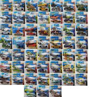 HOT WHEELS DIE CAST CARS 1:64 - CHOICE OF 52 VEHICLES - BRAND NEW PACKED