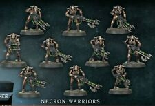 Warhammer 40k Necron Warriors (10) 2020 version Indomitus Gauss Flayer/Reaper