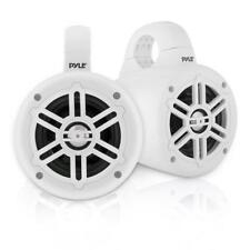 Waterproof Marine Tower Speakers - Compact Wakeboard Subwoofer Speaker System
