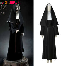 Cosonsen The Nun Valak Costume Demon Nun Robe Cosplay The Conjuring Horror Suit