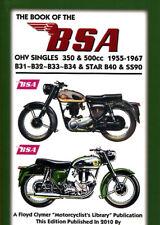 BSA SHOP MANUAL SERVICE REPAIR BOOK 350 500 CLYMER HAYNES OF CHILTON MOTORCYCLE