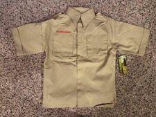 Nwt Attached! Boy Scout Uniform Shirt, Size M!