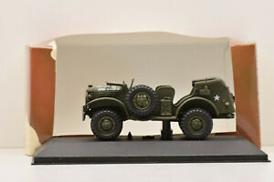DODGE WC 56 OPEN COMMAND CAR US ARMY WITH FORDING KIT VICTORIA 1/43 NEUVE BOITE