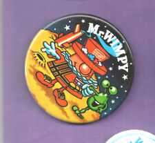 Mr Wimpy - Outer Space - Little Green Men   - Button Badge 1980's