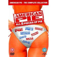 American Pie 1-8 The Complete Box Set DVD