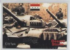 1991 DSI Desert Storm: Weapons & Specifications 44 T-72 Tank Non-Sports Card 4f0