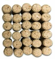 LUXE Straight Corks #9 Premium Natural Grade Wine Cork Stoppers Set of 30 Corks