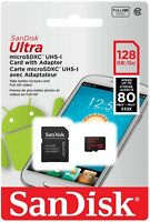 Sandisk 64GB 128GB Micro SD HC Class 10 Flash SDHC Memory Card Adapter