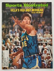 Bill Walton Signed Sports Illustrated Magazine March 6, 1972 UCLA NBA HOF RAD