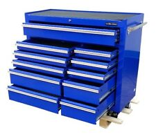 155 US Pro Tools blue tool Chest Box Heavy duty roll cabinet toolbox blue box