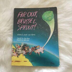 FAR OUT, BRUSSEL SPROUT! JUNE FACTOR 1985 FANTASY FICTION Children Graphic Novel