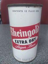 Rheingold 1950s 12oz 2 Sided Flat Top Beer Can. Benefit Nebraska Flood Victum